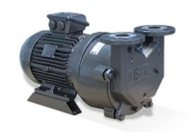 水循环真空泵工作原理
